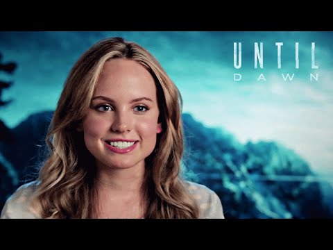Until Dawn  Meet the Cast  Behind the s