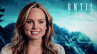 Until Dawn - Meet the Cast   Behind the Scenes