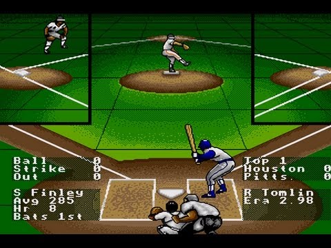 Cgrundertow Rbi Baseball 4 For Sega Genesis Video Game