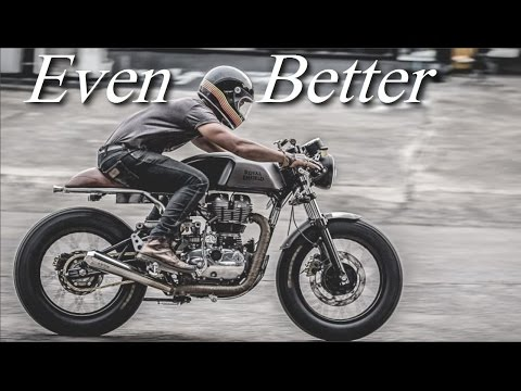 Cafe Racer (Royal Enfield Continental GT 535 by Zeus Custom)