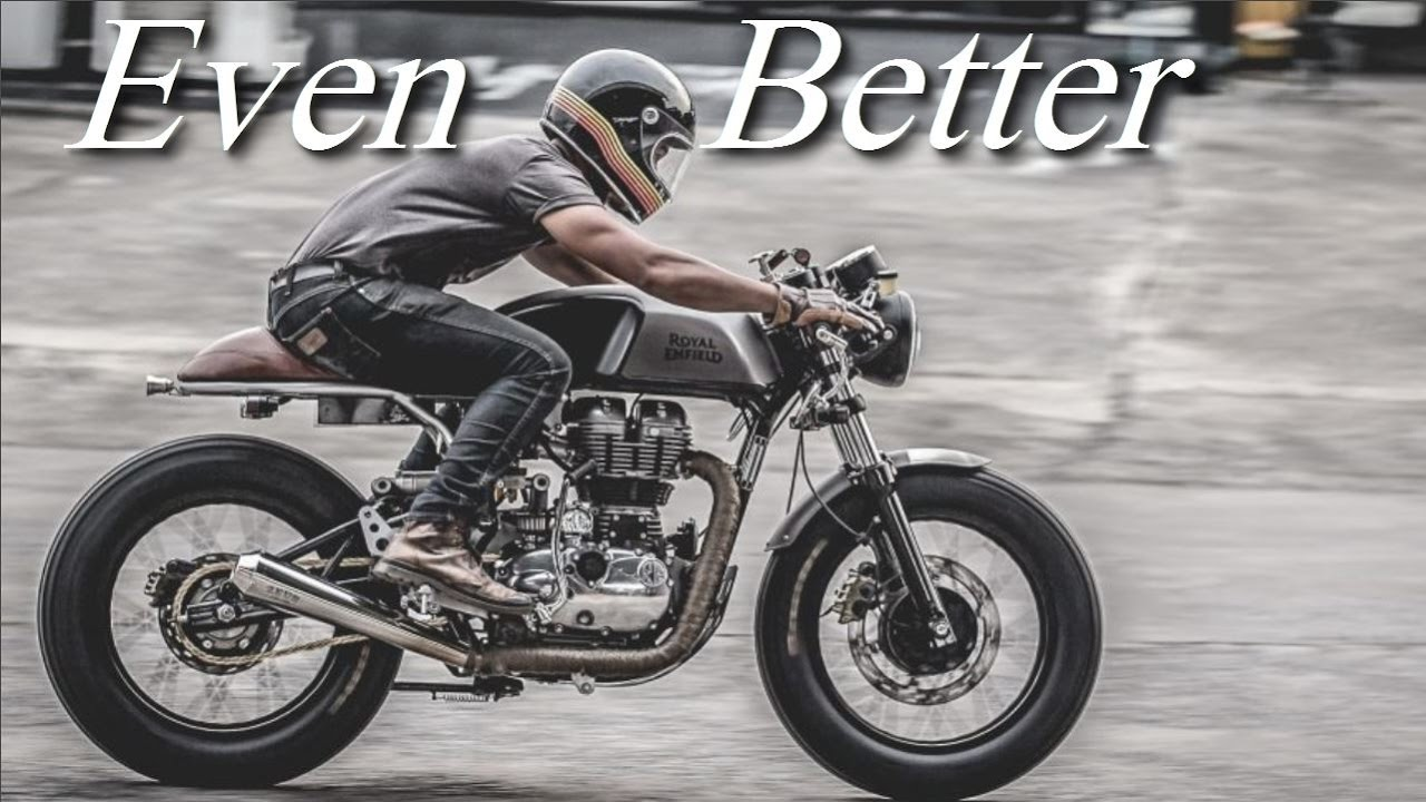 cafe racer (royal enfield continental gt 535zeus custom) - youtube