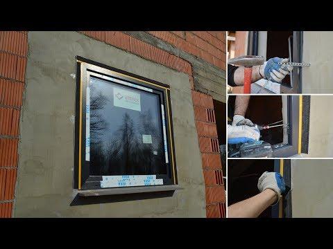 Antywłamaniowy montaż okna Vetrex V82 ProSafe