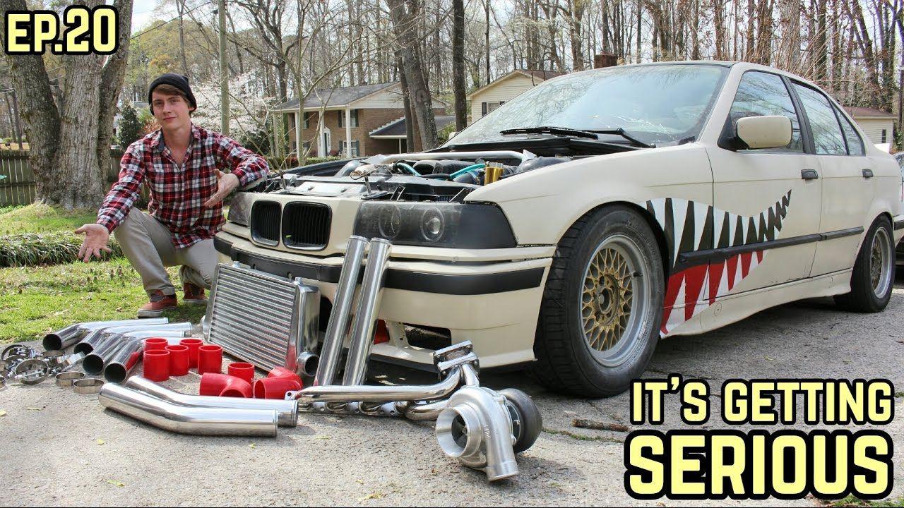 E36 Meet Intercooler Bmw E36 325i Drift Build Ep 20 Turbo Update
