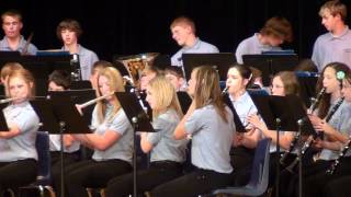 """Pieces Of Eight"" ...Cramer Eighth Grade Band .. Wednesday May 16th 2012"