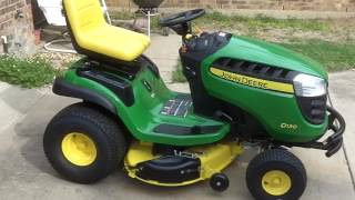 John Deere D130 Lawn Tractor