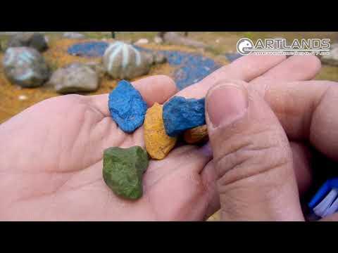 Ищите, где купить цветной щебень? Тогда смотрите! Art Lands. Проверка качества камня через 4 года!