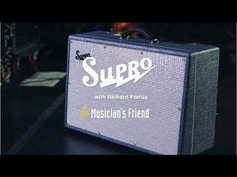 Supro Big Star Guitar Combo Amplifier with Guns N' Roses Guitarist Richard Fortus