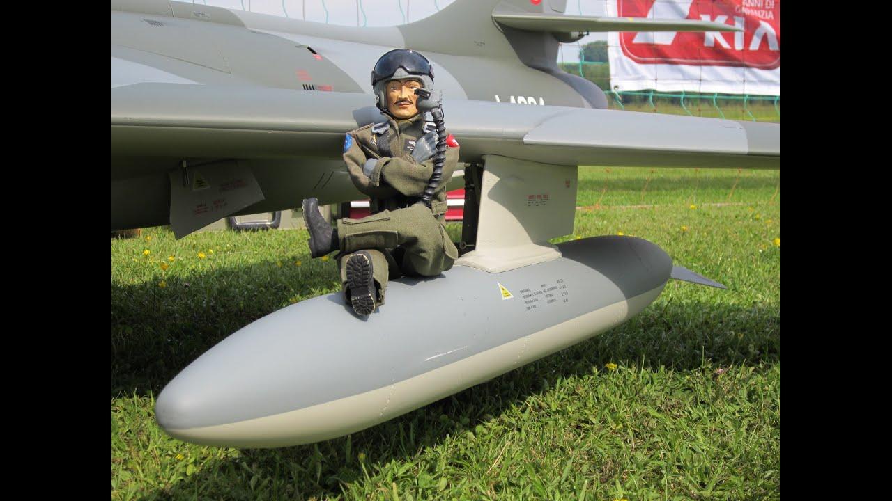 Two Rc Swiss Hawker Hunter' In Danger Zone