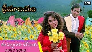 Premalayam Movie Video Song ఈ పిల్లగాలి చేసింది | Salman Khan | Madhuri Dixit | Telugu Best Movies