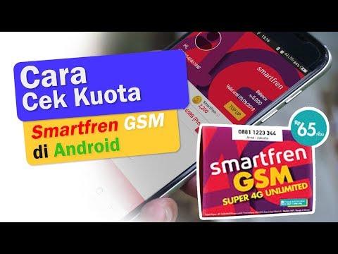 Cara Cek Kuota Smartfren Gsm Pada Android 4g Cek Deskripsi Youtube