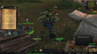 World of Warcraft Quest: Голем Железной руны: обучение