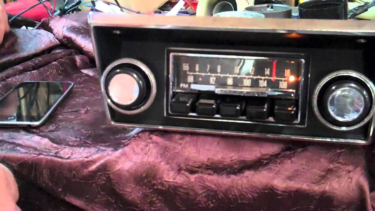 1968-1972 Ford F100 Original Am  Fm Radio