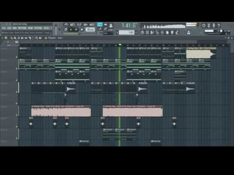 Yellow Claw-Both Of Us (feat  Stor-I) (FL STUDIO 12 REMAKE + ACCAPELLA)