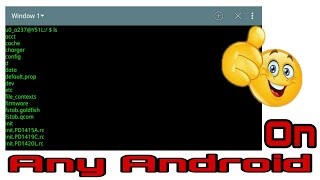 Terminal window for android || Latest update 2017 || by Mr. Techy screenshot 5