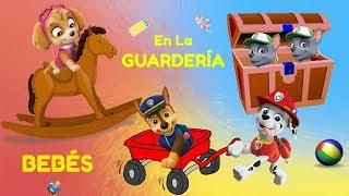 👶 bebés en la guardería de la patrulla canina 👶 ¡¡último día de clase 😜