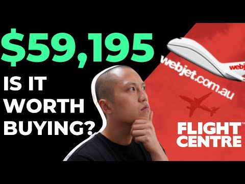 Is It Worth Buying ASX Travel Stocks? // Flight Centre (ASX:FLT) Vs Webjet (ASX:WEB)