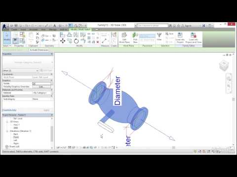 MEP Families in Revit | Creating a pipe accessory - YouTube