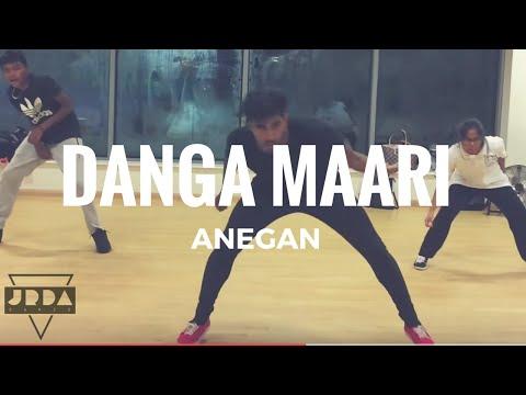 Anegan | Danga Maari Oodhari | Dance | Dhanush | Harris Jayaraj | @Jeyaraveendran Choreography
