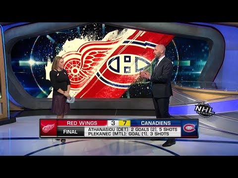 NHL On The Fly: Detroit vs Montreal: Breaking down the Canadiens` win over the Red Wings  Oct 15,  2