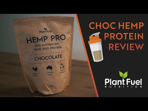 Plant Fuel Nutrition Hemp Pro Chocolate Protein | PLANT PROTEIN REVIEW