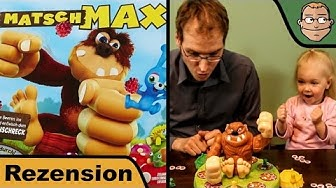 Matsch Max - Kinderspiel - Spiel - Review