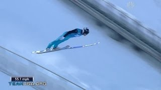 Nicholas Fairall Takes The Podium  | 2014 U.S. Olympic Trials Ski Jumping