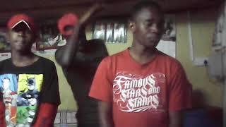 Kapraza and Young Crews making #Khaligraph jones freestyle song dance home baze