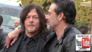 Norman Reedus and Jeffrey Dean Morgan at the AMC presents Talking Dead Live for the premiere of The