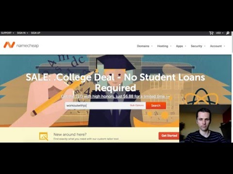 NameCheap Domain Name Registrar Tutorial 2016 - NameCheap Hosting Simply Explained - Youtube