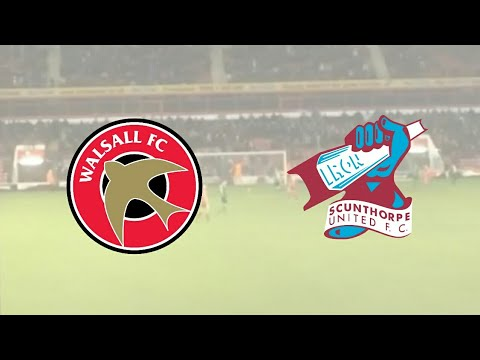Walsall v Scunthorpe | SkyBet League One Vlog