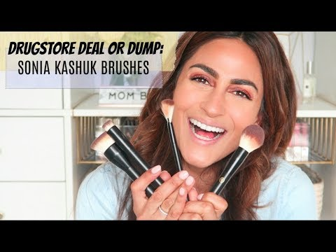 DRUGSTORE DEAL OR DUMP?? SONIA KASHUK MAKEUP BRUSHES thumbnail