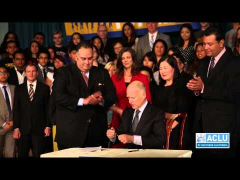 ACLU SoCal joins Gov Jerry Brown in signing a formula towards educational equity