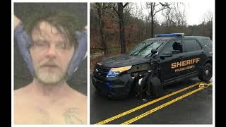 Recording details conversation with man who police say took patrol vehicle