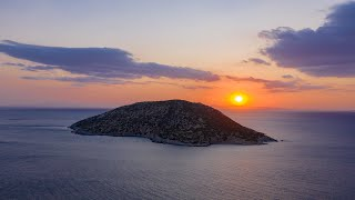Sunset in Anavyssos, Greece | 4K