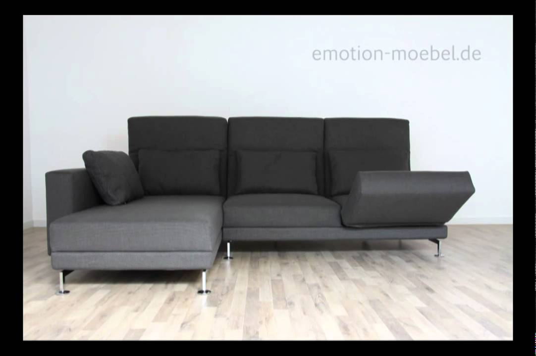 br hl moule design und funktionssofa in stoff youtube. Black Bedroom Furniture Sets. Home Design Ideas