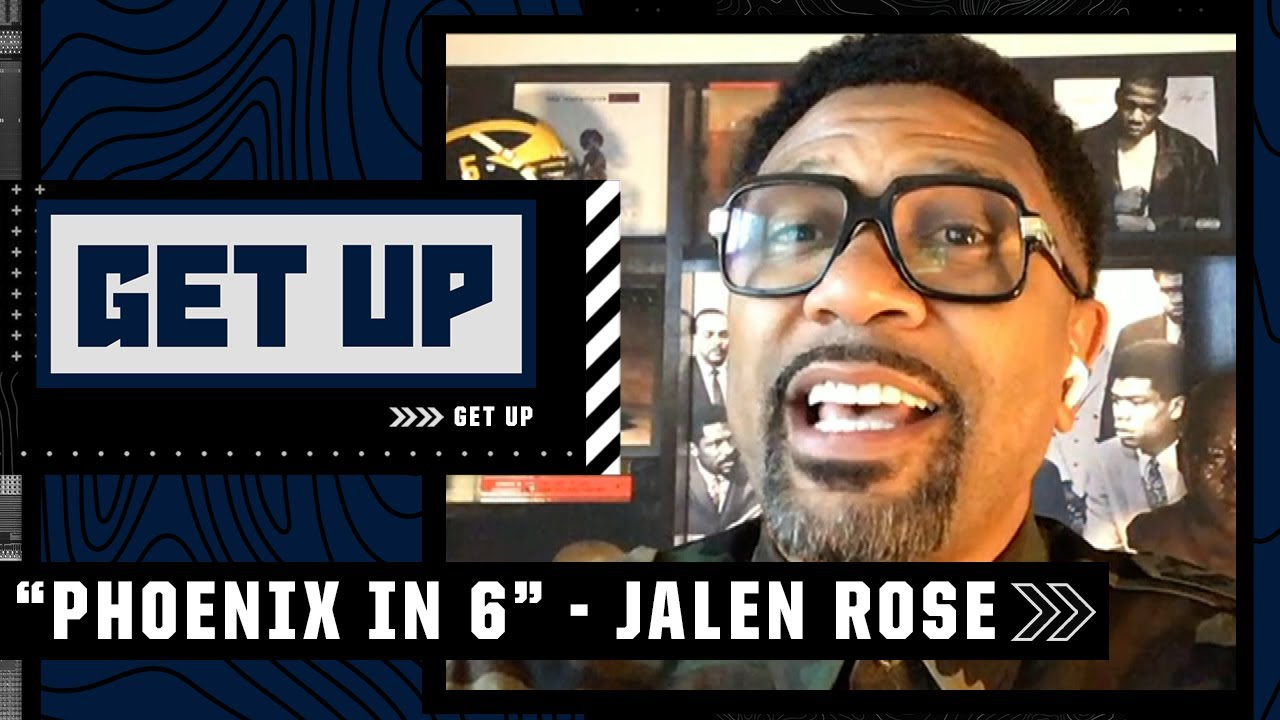Download 'Phoenix in 6!' - Jalen Rose predicts the Suns win their first NBA championship   Get Up