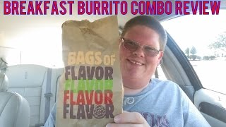 Burger King's  Breakfast Burrito Combo