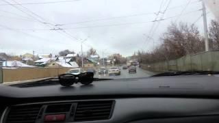 Пробный заезд после Чип-тюнинга Mitsubishi Lancer 9 1.3 МТ Учебный Автомобиль