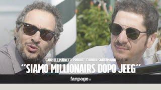 Gabriele Mainetti produce Claudio Santamaria: