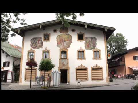 oberammergau and the ammergau alps doovi. Black Bedroom Furniture Sets. Home Design Ideas
