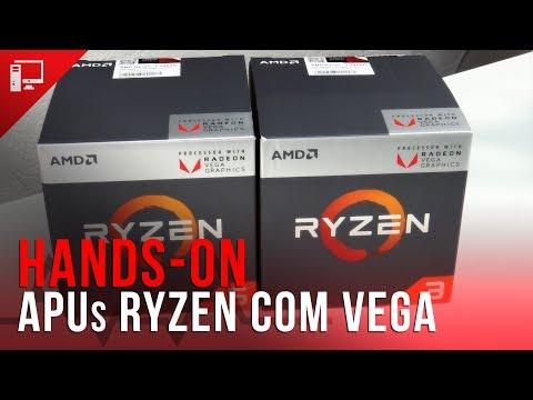 Novas APUs Ryzen com Vega: Unboxing e primeiras impressões