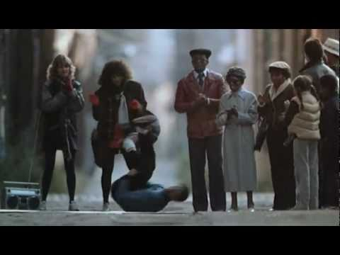 "Flashdance 1983 movie Breakdance scene ""It's Just Begun ..."
