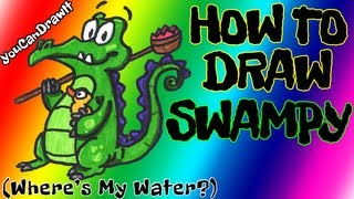 How To Draw Swampy from Where