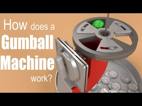 How Does A Gumball Machine Work?