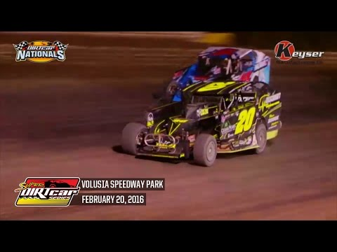 Highlights: Super DIRTcar Series Big Block Modifieds Volusia Speedway Park February 20th, 2016