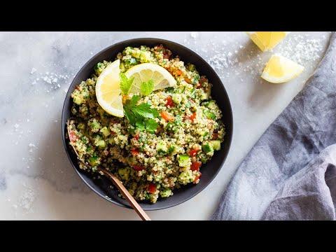Easy Quinoa Tabbouleh