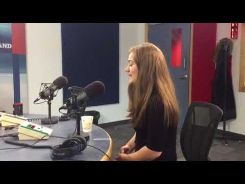 Paige Penney on CBC radio The Morning Show St.John's