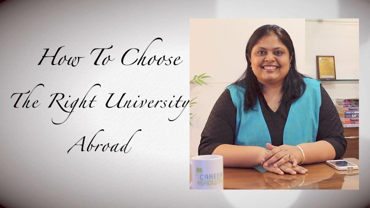 Help me choose a university abroad 33
