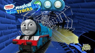 GORDON Mission in HAUNTED CASTLE! | Thomas & Friends: Magical Tracks - Kids Train Set By Budge