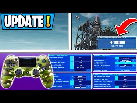 *NEW* Fortnite Update! | Controller BIG Changes,